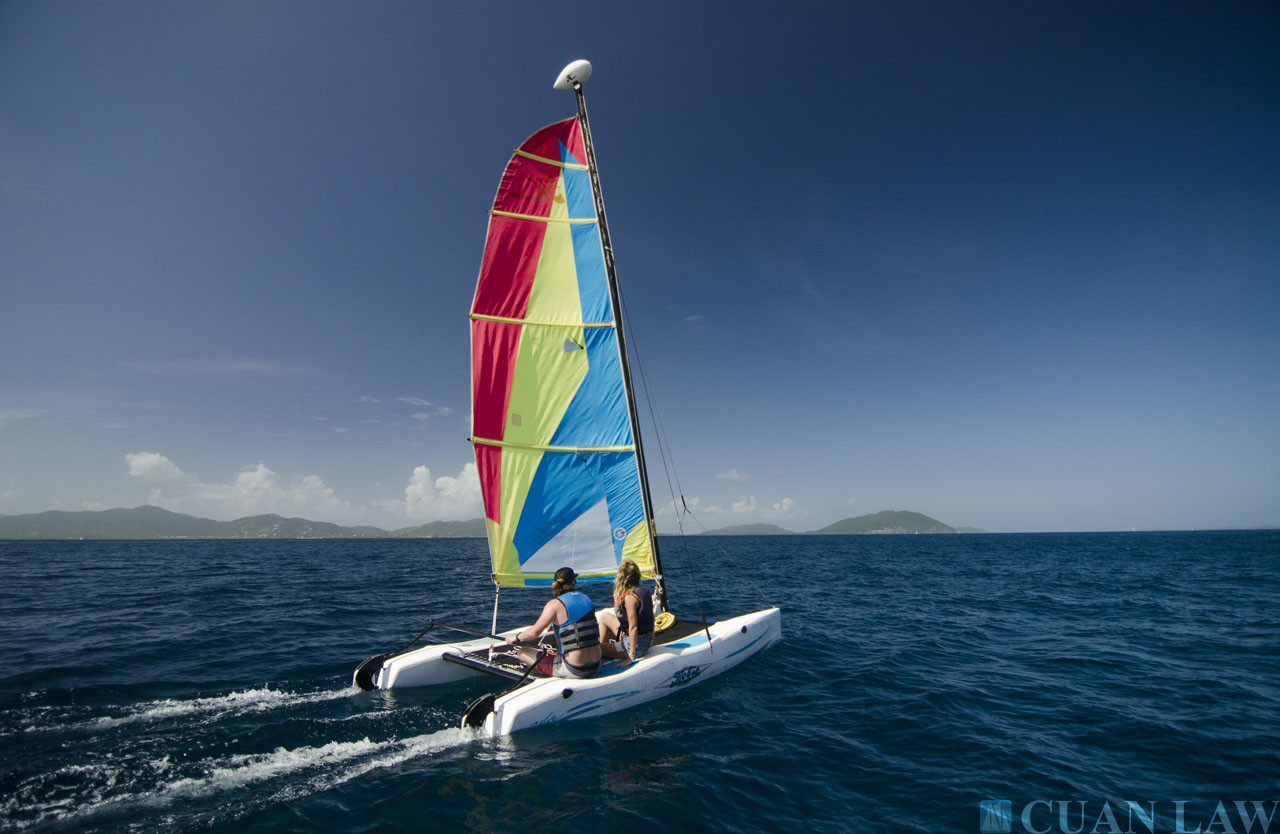 Luxury Sailing Vacations in the British Virgin Islands on