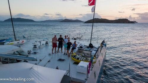 BVI Sailing Family Vacation on Cuan Law
